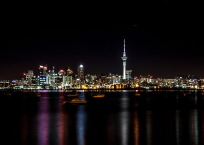 Auckland City Nightscape